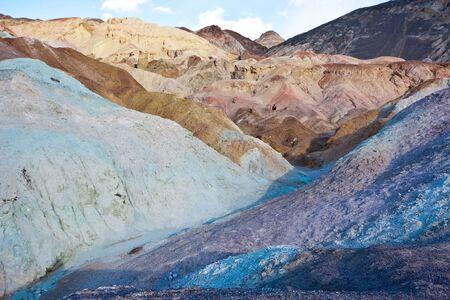 foothill: Artist Palette Rocks Stock Photo