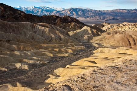 Death Valley desert hills at sunrise, California  Stock Photo - 15389641