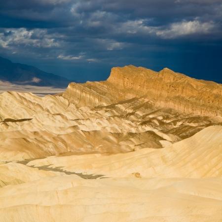 Death Valley Sunrise at Zabriskie Point Stock fotó