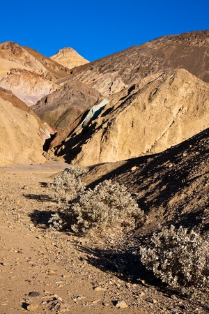 foothill: Artist Palette in Death Valley, California