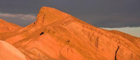foothill: Death Valley Peak at Sunrise