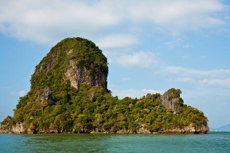 Small island in Ao Phang Nga, Thailand. Stock Photo - 15443035