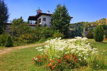 bulgaria: Old Rozhen Monastery near Melnik, Bulgaria.