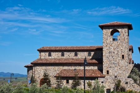 Napa Valley Winery, California.