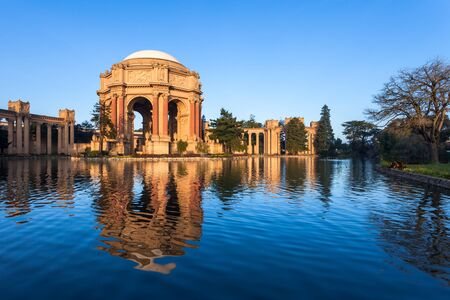 fine arts: Palace of Fine Arts in early morning light in San Francisco, California.