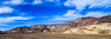 foothill: Colorful foothills alongside Death Valley, California