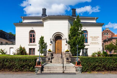 conference center: The assembly rooms and conference center of the Oslo Military Society built in 1878 in Norway. Editorial