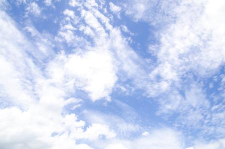 青空の背景 写真素材