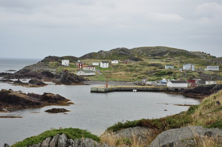 a rural community: rural outport community in Newfoundland
