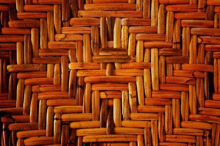 Wicker or rattan pattern photo