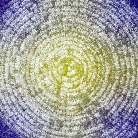 circle shape: Macro of circle shape stone texture background