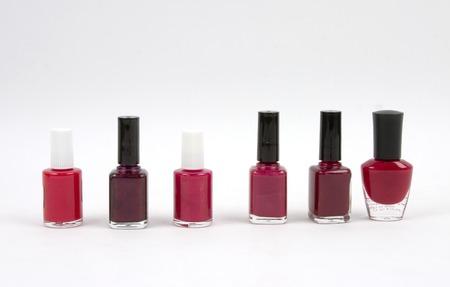nail polish bottle: red tones nail polish bottles