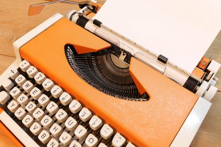 typebar: Dear Santa on Typewriter Stock Photo