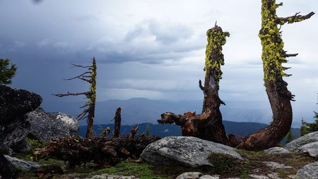 Mt. Ashland Thunderstorm