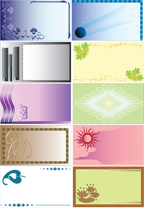 Some backgrounds for business cards and not only