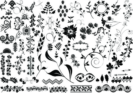 elements for design Vettoriali