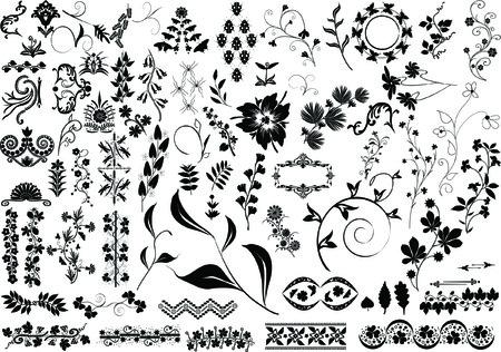 elements for design Ilustração