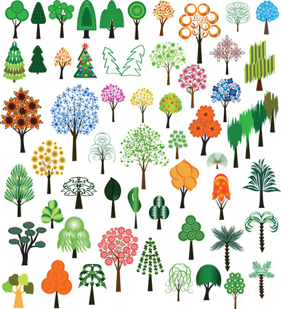 Set of vector of trees for design