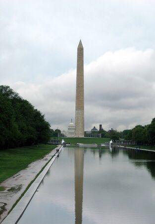 Монумент Вашингтона Фото со стока