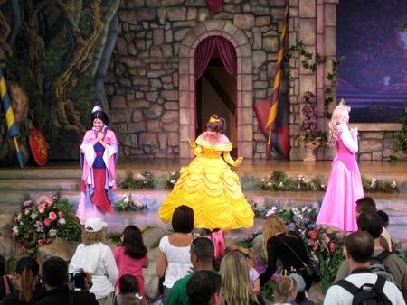Anaheim, California, USA - Meet the Princesses