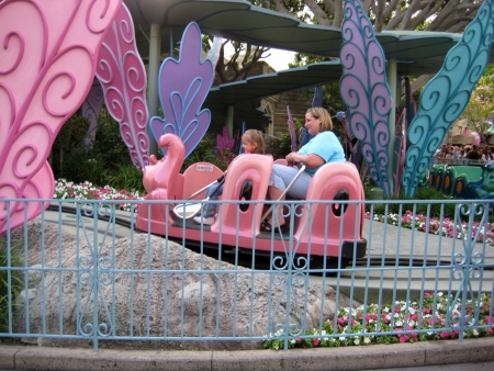 Anaheim, California, USA - Alice in Wonderland ride, Disneyland