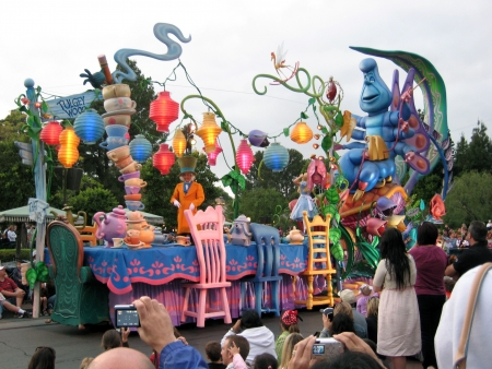 disneyland: Anaheim, California, USA - Parade, Disneyland