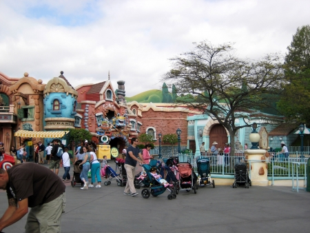 Anaheim, California, USA - Mickeys Toontown, Disneyland