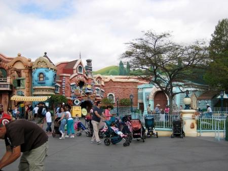 Anaheim, California, USA - Mickeys Toontown, Disneyland