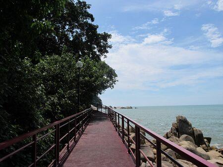 Вид с моста Фото со стока