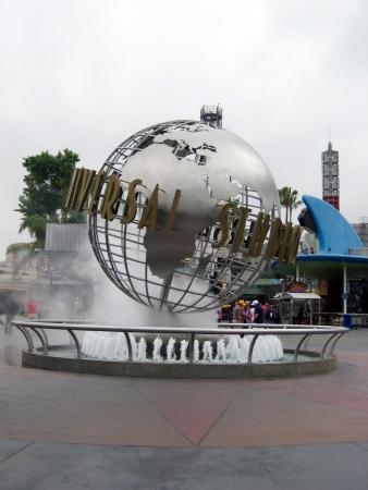 Universal Studios Hollywood globe