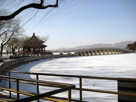The Summer Palace in Beijing, China photo