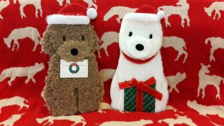 wish: Santa dogs bring christmas cheer