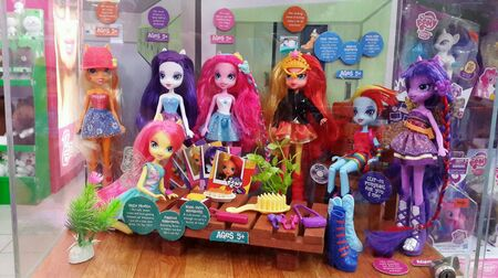 My little ponies in doll forms