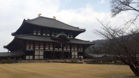 March 12 2015  Todaiji Temple in Nara Japan