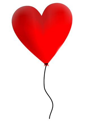 heart balloon Stock Photo - 792943