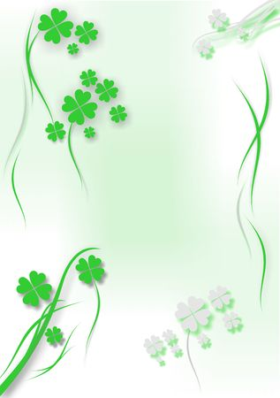 St. Patrick�s day background - vector illustration Stock Illustration - 810354