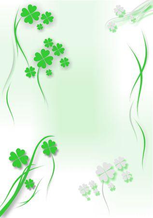 St. Patrick�s day background - vector illustration Stock Illustration - 810354