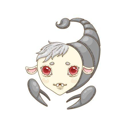 scorpio zodiac sign Ilustração