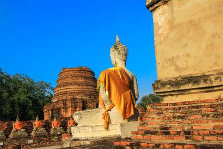 buddhist temple: Wat Yai Chai Mongkhon-a Buddhist temple in Ayutthaya,Thailand