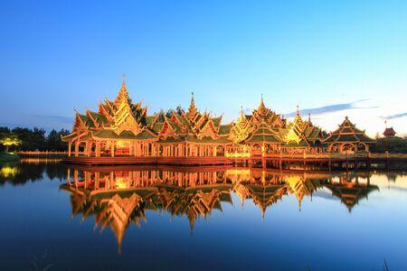 Pavilion of the Enlightened in Ancient Siam,Samutparkan,Thailand.