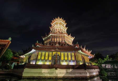 siam: The Phra Kaew Pavilion in Ancient Siam,Samutparkan,Thailand.