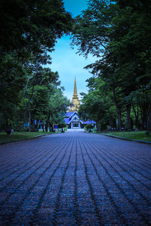 nakhon pathom: The Temple of Marble Pali Canon or Tripitaka in Phutthamonthon(Buddhist park in Phutthamonthon district,Nakhon Pathom Province of Thailand)