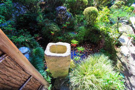 japanese gardens: Japanese gardens in autumn