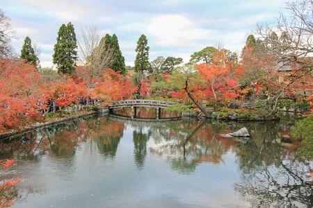 momiji: Fall foliage at Eikando Temple(Zenrin-ji ),Sakyo-ku,Kyoto,japan Stock Photo