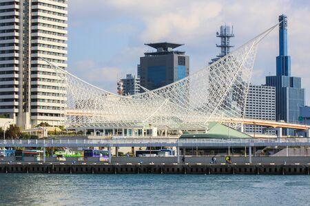 神戸海洋博物館、メリケンパーク、神戸、日本 報道画像