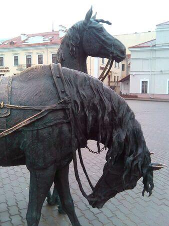 minsk: Sculpture in Minsk horses