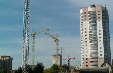 minsk: Building in Minsk Stock Photo