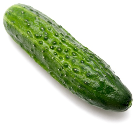 cucumber isolated on white Stock Photo - 16324481