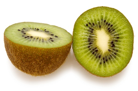 close-up slices of kiwi on a white  Stock Photo - 16324560