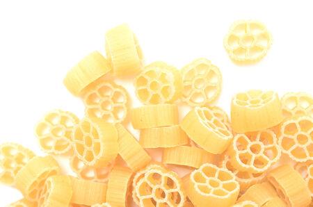 pasta isolated on white  photo